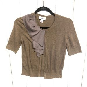 LOFT | short sleeve cardigan